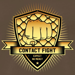 Contact Fight Gold - Men's Premium T-Shirt