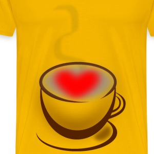 Coffee Love - Men's Premium T-Shirt