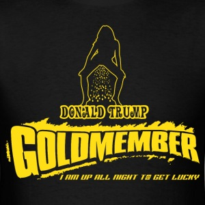 Donald Trump Goldmember - Golden Shower T-Shirts - Men's T-Shirt
