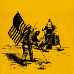 Apollo Moon Landing - Men's Premium T-Shirt