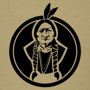 Sitting Bull US Native - Men's T-Shirt