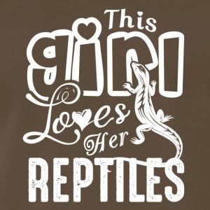 This Girl Love Her Reptiles Shirt - Men's Premium T-Shirt