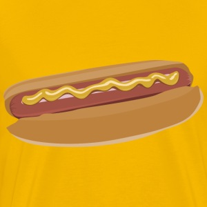 Hot dog by Rones - Men's Premium T-Shirt