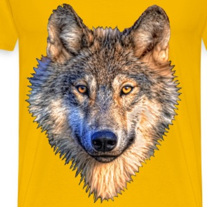 Wolf Head - Men's Premium T-Shirt