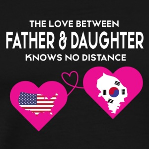 The Love Between Father & Daughter T Shirt - Men's Premium T-Shirt
