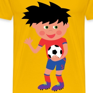 Football Kid - Men's Premium T-Shirt