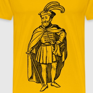 Hungarian of the 16th century - Men's Premium T-Shirt