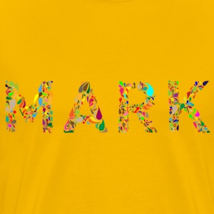 Mark Typography - Men's Premium T-Shirt