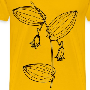 Claspingleaved twisted stalk - Men's Premium T-Shirt