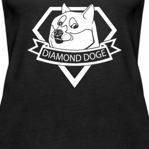 Diamond Doge - Women's Premium Tank Top