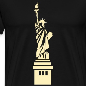 shokunin Statue of Liberty - Men's Premium T-Shirt