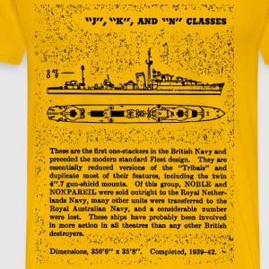 J, K and N Class Battleship - Men's Premium T-Shirt