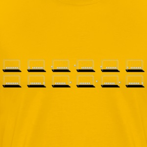 Newton s Cradle Sprite Sheet - Men's Premium T-Shirt