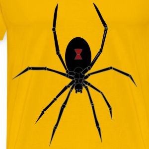 Black Widow Spider - Men's Premium T-Shirt