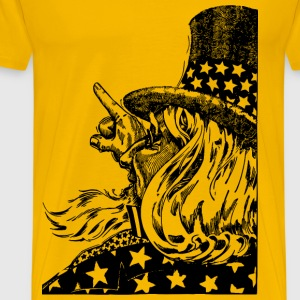 Uncle Sam Points - Men's Premium T-Shirt
