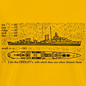 Bagley Battleship - Men's Premium T-Shirt
