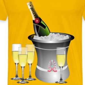 s Eve Celebration - Men's Premium T-Shirt
