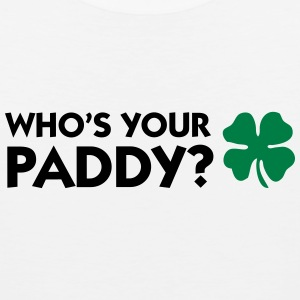 Who s your Paddy? Sportswear - Men's Premium Tank