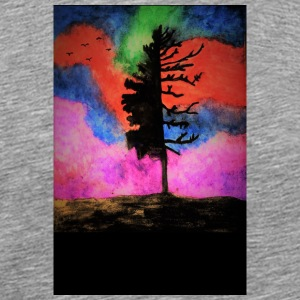 colorful_tree - Men's Premium T-Shirt