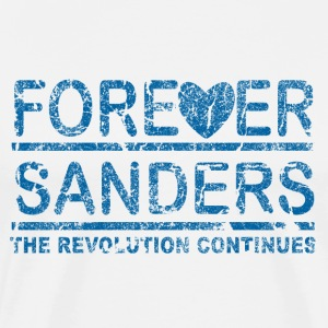 Forever Sanders, the Revolution Continues - Men's Premium T-Shirt