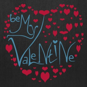 Be My Valentine - Love Heart - Tote Bag