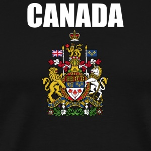 Canada Coat Of Arms Royal - Men's Premium T-Shirt
