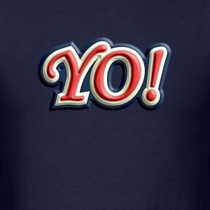 Colorful Yo - Men's T-Shirt