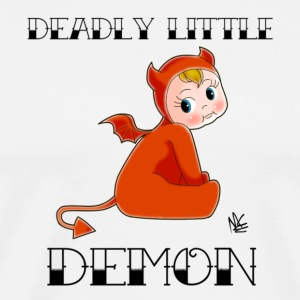 Deadly Little Demon - Men's Premium T-Shirt