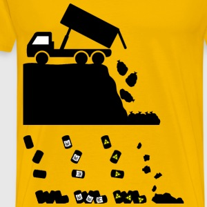 Landfill Waste - Men's Premium T-Shirt
