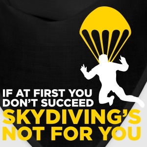 Skydiving is not for the unlucky ones. Caps - Bandana