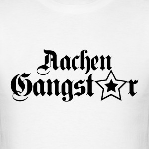 aachen gangster black T-Shirts - Men's T-Shirt