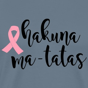Hakuna Ma-tatas Breast Cancer Awareness - Men's Premium T-Shirt