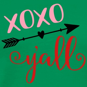 XOXO Y'all Valentine's Day Kids baby design - Men's Premium T-Shirt