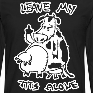 Leave my tits alone - Men's Premium Long Sleeve T-Shirt