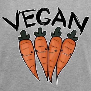 Carrot vegan - Women's Roll Cuff T-Shirt