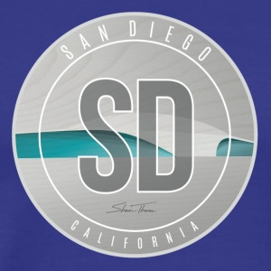 San Diego - Surf Art - Men's Premium T-Shirt