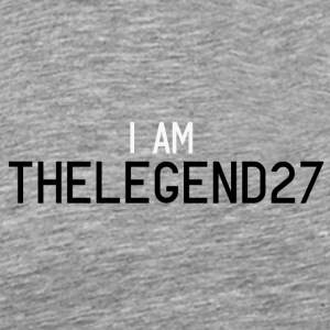 I AM THELEGEND27 - Men's Premium T-Shirt