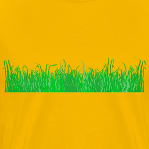 Grass for a lawn - Men's Premium T-Shirt