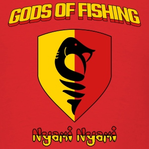Nyami Nyami Fishing God T-Shirts - Men's T-Shirt