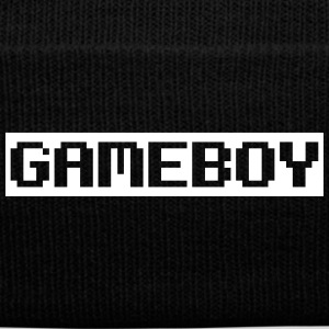 GAMEBOY Sportswear - Knit Cap with Cuff Print
