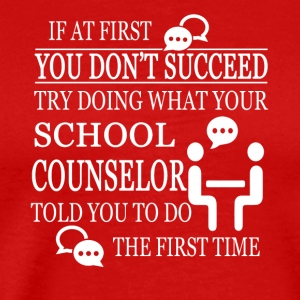 SCHOOL COUNSELOR T-SHIRT - Men's Premium T-Shirt
