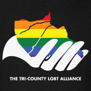TriCounty LGBT Alliance Tee - Men's T-Shirt