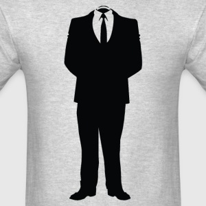 Anonymous Man In Suite - Men's T-Shirt