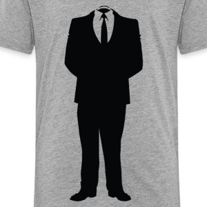 Anonymous Man In Suite - Toddler Premium T-Shirt