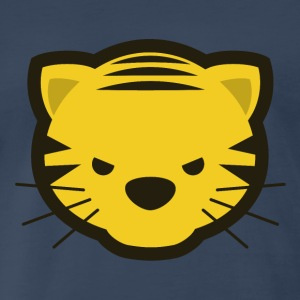 Kawaii Angry Tiger - Men's Premium T-Shirt