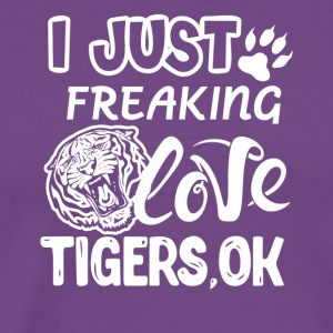 Love Tiger Shirt - Men's Premium T-Shirt