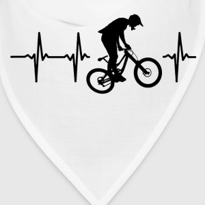 My heart beats for downhill Caps - Bandana
