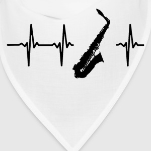 My heart beats for saxophones Caps - Bandana