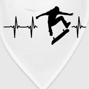 My heart beats for skateboarding Caps - Bandana