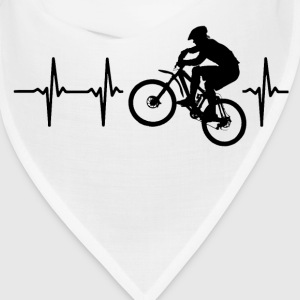 My heart beats for mountainbiking Caps - Bandana